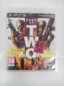 Army of two  40 day ps3