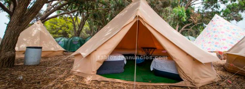 Dream beach: 3 entradas con abono camping