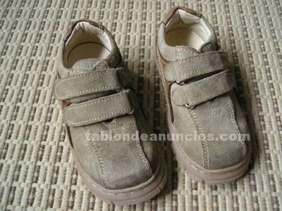 Zapatos niño piel nº21