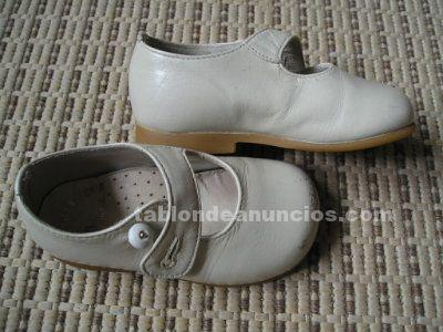 Zapatos niño/a piel nº 20