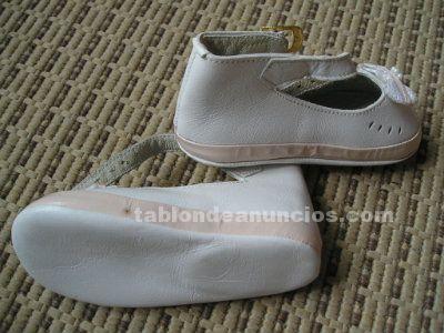 Zapatos bebe piel nº19