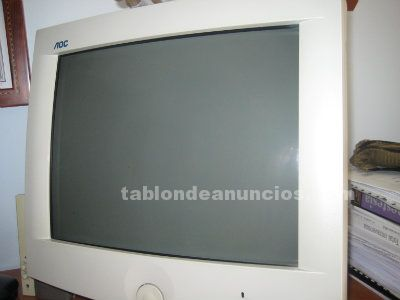 "Vendo monitor aoc 17"" 7vlr. En perfecto estado"