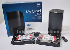 Nube personal wd my cloud ex2 6tb