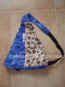 Bolso mochila artesano