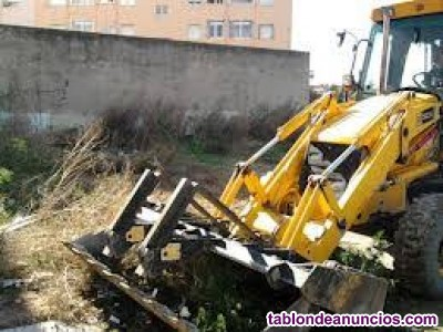 Limpieza de parcelas en Valencia 656926531