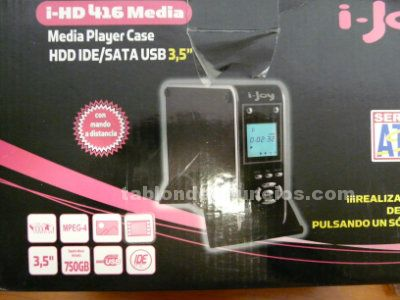 Disco duro media player 750 gb