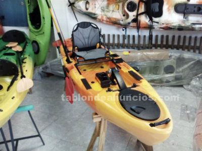 Nuevo kayak helice a pedales