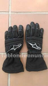 Guantes alpinestars transition drystar® lady negros / grises