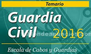 Material guardia civil 2016