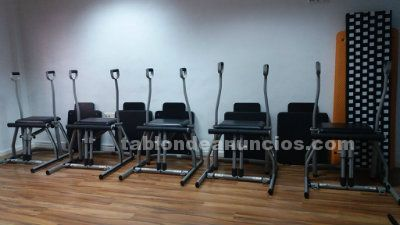 Clases pilates maquinas