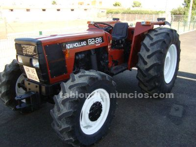 Tractor fiat new holland 82 86 doble tracci�n.