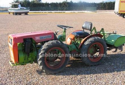 Tractor articulado agria 6900-d. Doble tracci�n