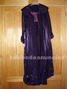 Conjunto vestido y abrigo fiesta