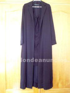 Conjunto vestido y abrigo entretiempo