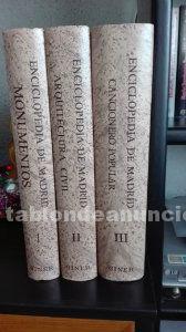 Gran enciclopedia de madrid (obra única), editorial giner