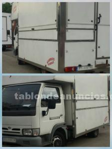 Cami�n churreria ambulante equipado
