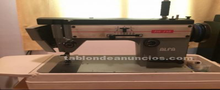 Maquina de coser artesanal alfa 112