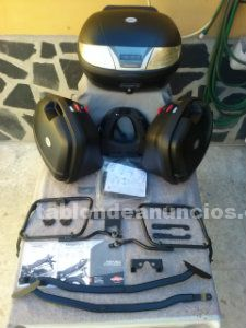 Vendo kit baul y maletas