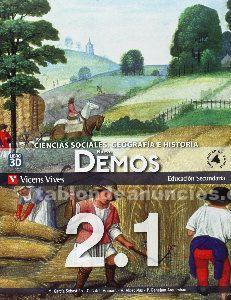LIBROS DE TEXTO 2 ESO SOCIALES