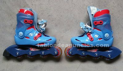 Patines en linea roller niños junior decathlon v100 - eu 28