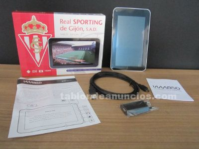 Tablet oficial real sporting de gijón