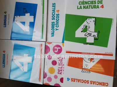 TABLÓN DE ANUNCIOS - Libros de texto de tercero y cuarto de primaria ...