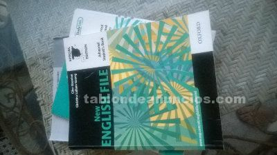 Vendo pack libros ingles- cuid-uned