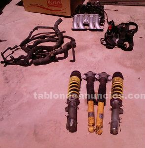 Vendo suspención de gas regulable para golf iv(homologada)