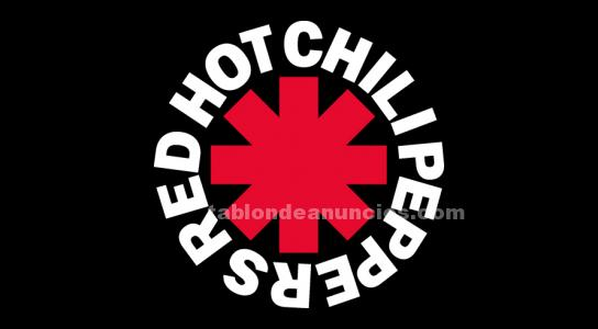 Entrada red hot chili peppers sabado 1/10 barcelona