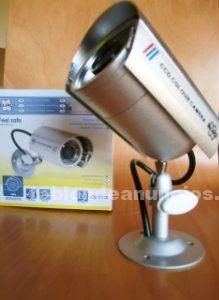 2 cámaras falsas metálicas elro