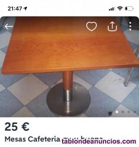 Vintaje sillas y mesas bar