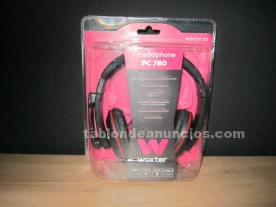Auriculares estéreos woxter i-headphone pc 780 nuevo