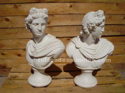 Busto romano piedra artificial