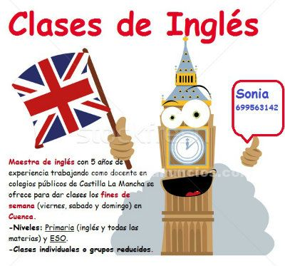 Clases particulares de ingl�s