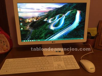 Se vende ordenador lg all-in-one pc 22v240
