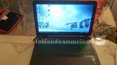 Portatil gaming hp ak003ns a estrenar