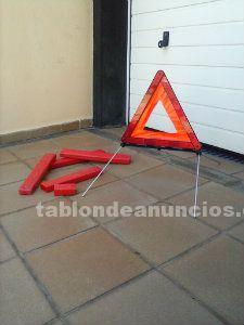 Triángulos de señalización averías