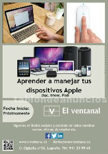 Aprende a manejar dispositivos apple