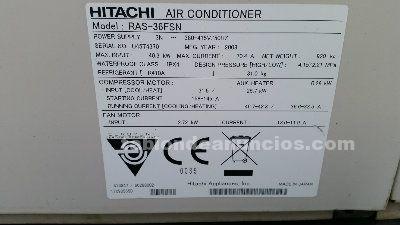 Aire acondicionado industrial para grandes instalaciones ras 36fsn