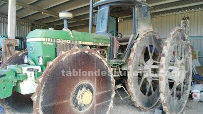 Tractor john deere 3340 super power synchron