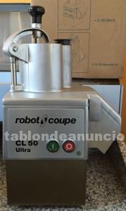 Robot coupe cl50 ultra demostracion