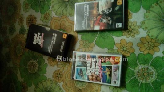 Vendo juegos de psp vice city stories