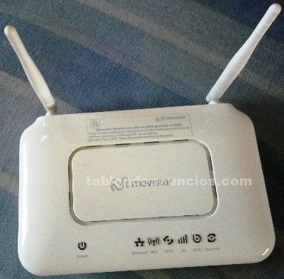 Router movistar home station adsl zte modelo h108n