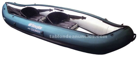 Kayak hinchable doble, sevylor modelo colorado