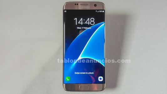 Vendo samsung galaxy s7 edge color rosa gold