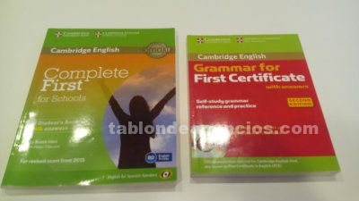 Complete firs for school y grammar for first