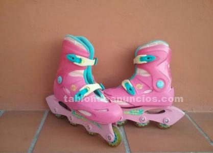 Pack patines + protectores