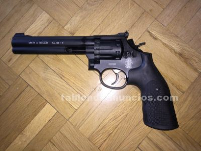 "Rev�lver smith&wesson mod. 586 6"" co2 full metal"