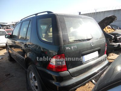 Despiece mercedes ml