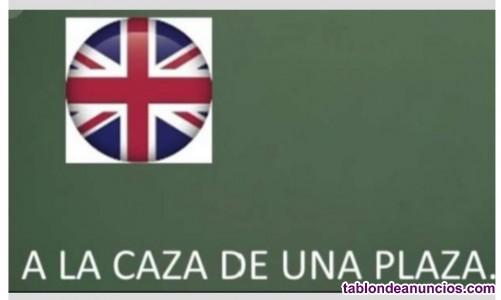 Preparadora oposiciones maestros ingles  2020-21